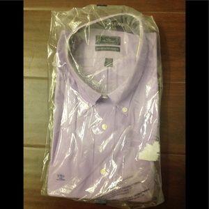 "🌂 Dockers Long Sleeve 18-18.5"" Dress Shirt NWT"